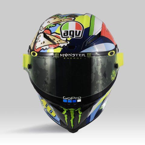 Helm Rossi motogp misano