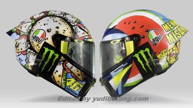 Helm Rossi Motogp Misano 2019