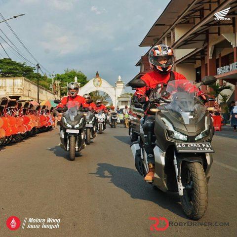 Honda ADV150 handlingnya mantab