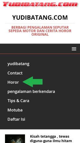 cara mencari artikel horor