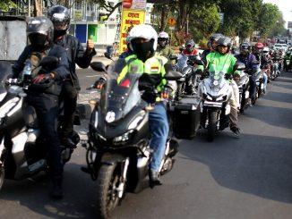 adv150 weekend ride yogyakarta