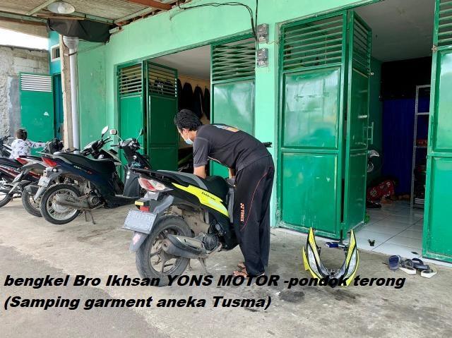 bengkel address yons motor